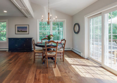 Main Dining Remodel in Maine Home