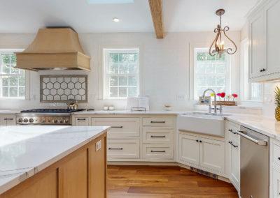 Beautiful Wood Floor in Kitchen
