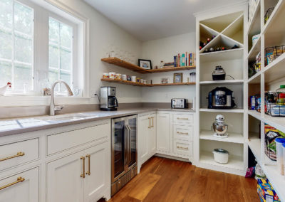Custom Pantry in Maine Home Remodel